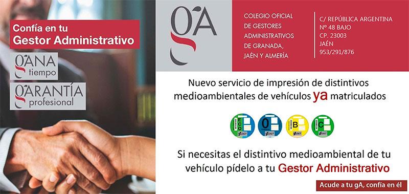 Nuevo servicio de impresión de distintivos medioambientales de venículos YA matriculados - Gefilase